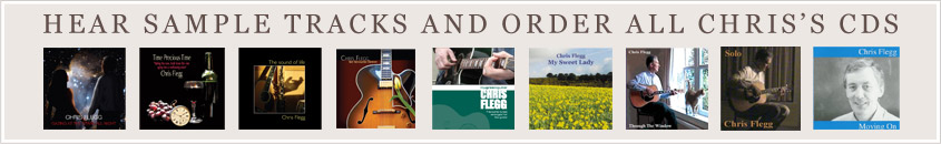 Hear sample tracks and order all Chris's CDs